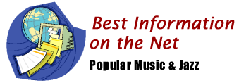 The St. Ambrose University Library--Best Information on the Net offers music and jazz reference sources.