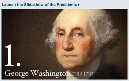 Learn about all the presidents of the United States from the White House web site.